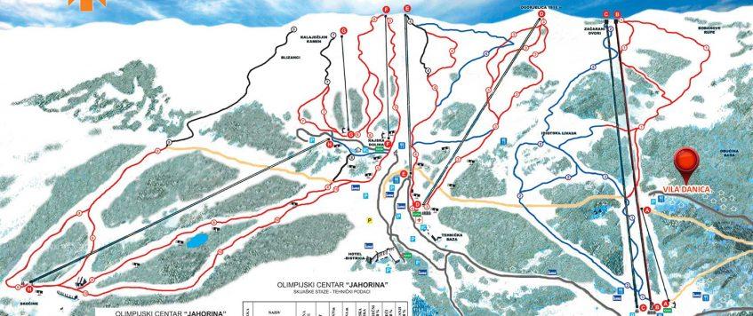 mapa-lokacija-vila-danica-jahorina